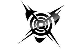 Sport Target Logo. Logo Design Template Vector Stock Image