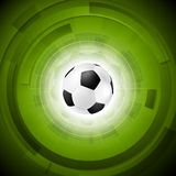 Sport tech football background Royalty Free Stock Images