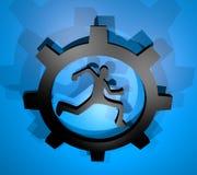 Sport tech icon Royalty Free Stock Photo