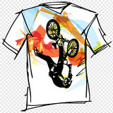Sport tee Royalty Free Stock Photography