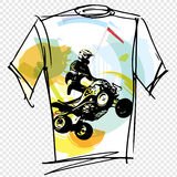 Sport tee Royalty Free Stock Images