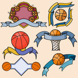 Sport template series Royalty Free Stock Images