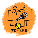 Sport tennis Royalty Free Stock Photo