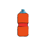 Sport thermo bottle Stock Photo