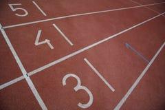 Sport track Stock Photos