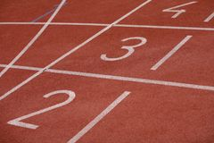 Sport track Royalty Free Stock Images