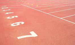 Sport Track running Royalty Free Stock Image