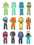 Sport tracksuits for boys Royalty Free Stock Photos