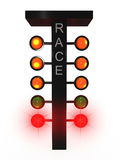 Sport traffic light Stock Images