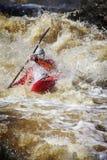 Sport: Trasportare di Whitewater immagini stock