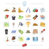 Sport, travel, circus and other web icon in cartoon style.weapons, cooking, religion icons in set collection. Sport, travel, circus and other  icon in cartoon Stock Photo