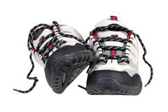 Sport trekking shoes Stock Image