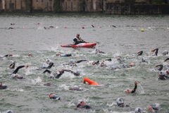 Sport triathlon swimming royalty free stock photography