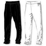 Sport trousers / pants. Stock Photo