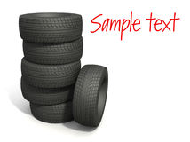 The sport tyres Stock Photography