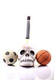 Sport und Drogen Stockbild