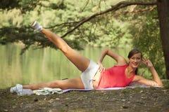 Sport und Erholung draußen Stockbilder