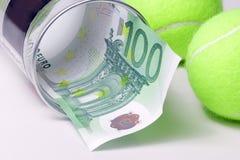 Sport und Geld Lizenzfreie Stockfotos