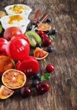 Sport und gesunde Ernährung Stockfoto