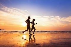 Sport und gesunder Lebensstil Lizenzfreie Stockfotografie