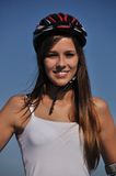 Sport under blue sky Royalty Free Stock Photography
