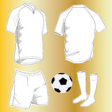 Sport uniforms. Vector illustration of the sport uniforms Royalty Free Stock Photo