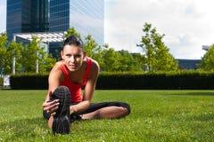 Sport urbani - forma fisica nella città Fotografie Stock Libere da Diritti