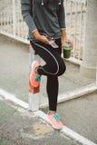 Sport urbano di forma fisica e concetto sano di stile di vita Fotografia Stock Libera da Diritti