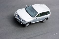 Sport utility vehicle. Luxury sport utility vehicle of my suv cars series Stock Image