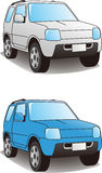 Sport Utility Vehicle illustration Royalty Free Stock Images