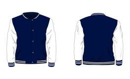 Varsity Jacket template editorial stock photo. Illustration of model ...