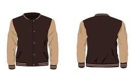 Sport varsity jacket. Illustration of Sport varsity jacket Stock Illustration