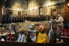 Sport in vatican Stock Photos