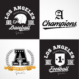 Sport vector Graphics and typography t-shirt design for apparel. Royalty Free Stock Image