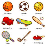 Sport. Vector illustration of Cartoon Sport vocabulary royalty free illustration