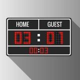 Sport vector scoreboard Royalty Free Stock Photos