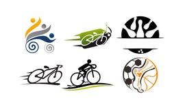 Sport Vector Template Set stock illustration