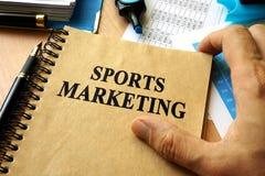 Sport-Vermarkten Stockbild