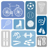 Sport wallpaper Royalty Free Stock Photography