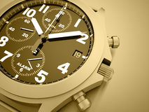 Sport watches concept. Sport gray watches concept rendered Royalty Free Stock Photo