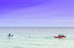 Sport water banana boat Stock Photography