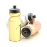 Sport water bottle composition Stock Photography