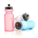 Sport water bottle composition Stock Image