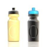 Sport water bottles Stock Image