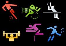 sport web2 ikony ilustracji