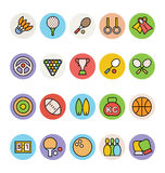 Sport Wektorowe ikony 1 ilustracja wektor