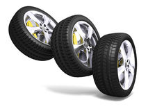 Sport Wheels Royalty Free Stock Photos