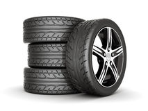 Sport wheels Royalty Free Stock Photo