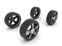 Sport wheels Royalty Free Stock Photography