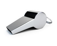 Sport whistle Stock Image